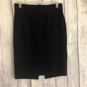 Antonio Melani black pencil skirt rayon blend 12